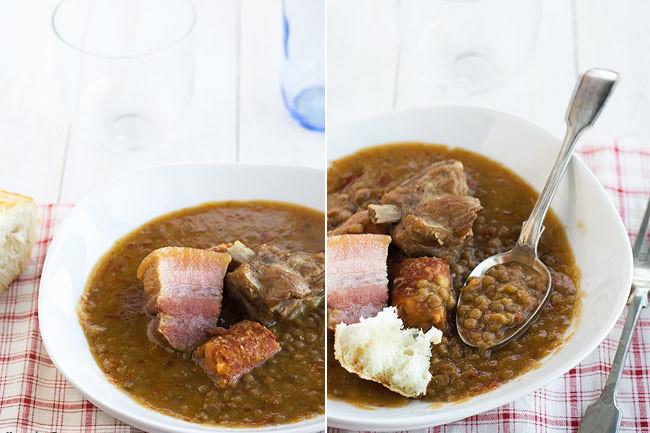 Lentejas Caseras Con Sacramentos Receta De Cocina Fácil Sencilla Y Deliciosa