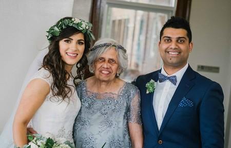 Las 'niñas' de las flores más especiales las encontramos en esta boda en que los novios rindieron el mejor homenaje a sus abuelas