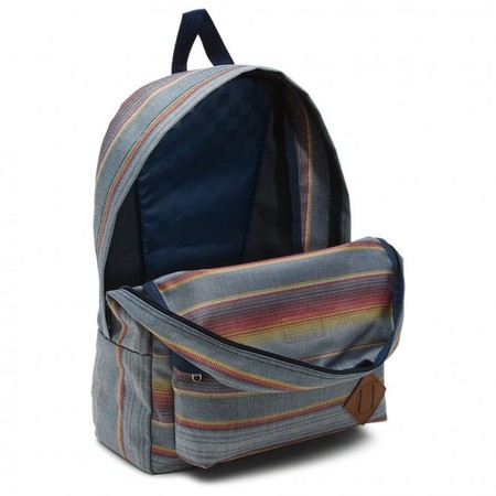 Vans Old Skool Ii Backpack Blue Mirage Rockaway Stripe Movhila