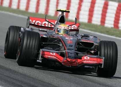 Hamilton, el más rápido en el Paul Ricard