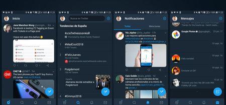 Twitter para Android se pasa a la barra de navegación inferior y pierde arrastrar para cambiar de sección