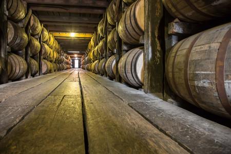 Foto 06 Barricas De Roble Americano En Una Destileria De Kentucky