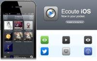 Ecoute, un nuevo reproductor de música para iOS. ¿El mejor?