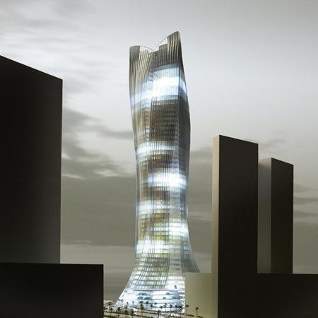 La torre Michael Schumacher de Dubai