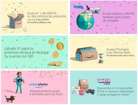 Ventajas Amazon Prime Day