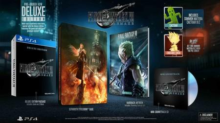 Final Fantasy Vii Remake Deluxe