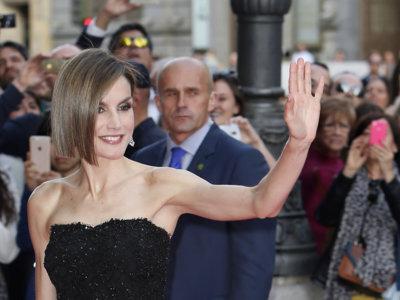La reina Letizia estrena corte de pelo con un look muy sensual