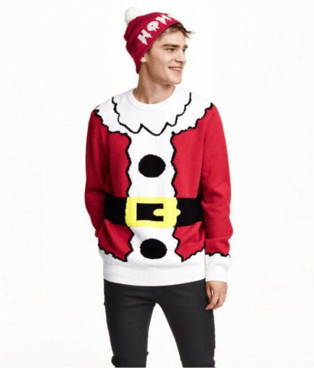 Hm Santa Christmas Sweater 900x1053