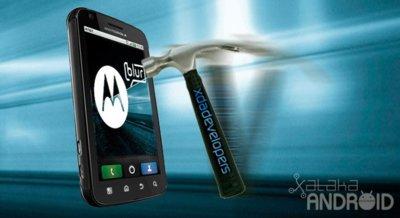 Motorola Atrix 4G, bloqueado de fábrica para evitar Custom Roms