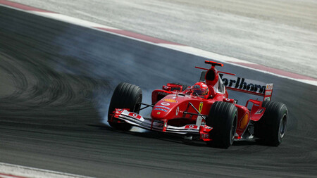 Schumacher Barein F1 2004