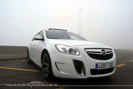 Opel Insignia Sports Tourer OPC, prueba (parte 1)
