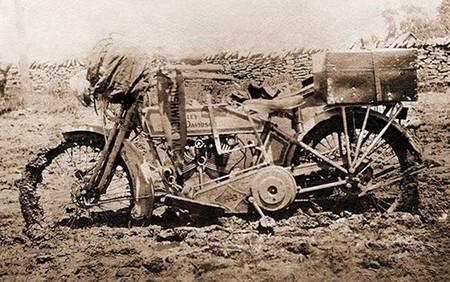 Harley Davidson Effie Hotchkiss Viaje 1915