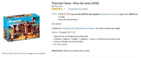 Mina Oeste Playmobil Amazon
