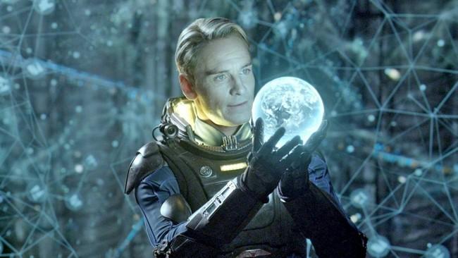 Michael Fassbender Alien Covenant