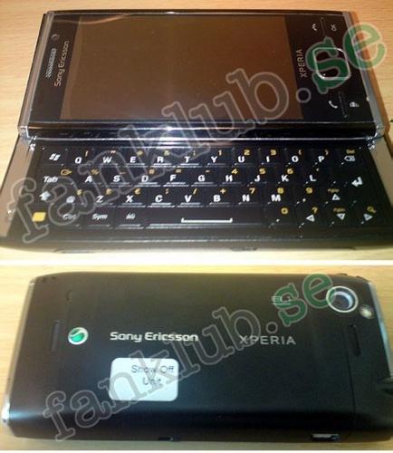 Sony Ericsson Xperia X2, los primeros rumores