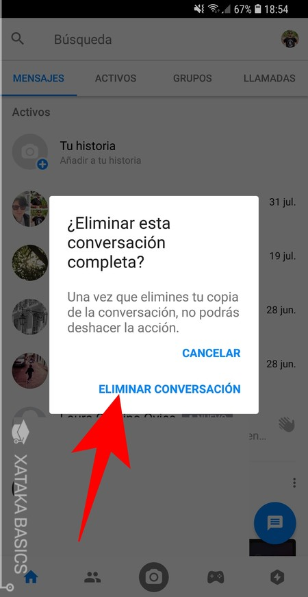 Eliminar Conversacion Confirmar