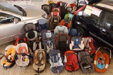 Cuidado con los sistemas de retención infantil de los coches, algunos no garantizan nada