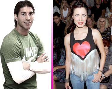 Pillad vuestras cámaras que el primer beso entre Pilar Rubio y Sergio Ramos se cotiza alto