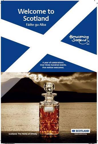 Escocia: Homecoming, la festividad bañada en whisky