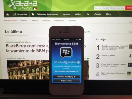 BlackBerry Messenger ya disponible para iOS y pronto para Android