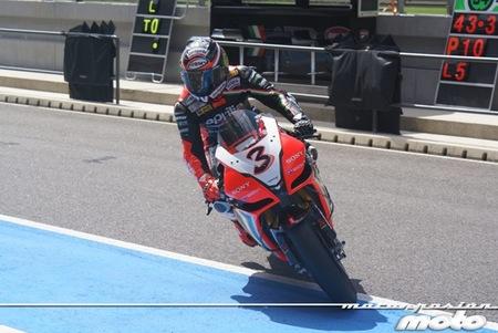 Superbikes Portimao 2012: los entrenamientos vistos desde boxes