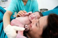 ¿Cómo es ese momento mágico en que vemos por primera vez al bebé?