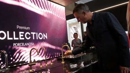 Porcelanosa presenta en Cersaie sus novedades, entre las que destaca la colección de grifos de Ramón Esteve