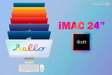 """El nuevo iMac de 24"""" M1 con cuatro puertos y Touch ID en el teclado está casi 100 euros más barato en Amazon"""