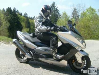 Vídeoprueba Yamaha T-Max contra Suzuki SV650