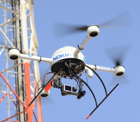 Nokia Uses Drones For Tower Inspection