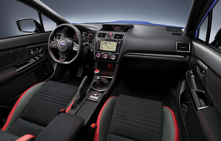 Subaru WRX STI 2018 Interior Vista General