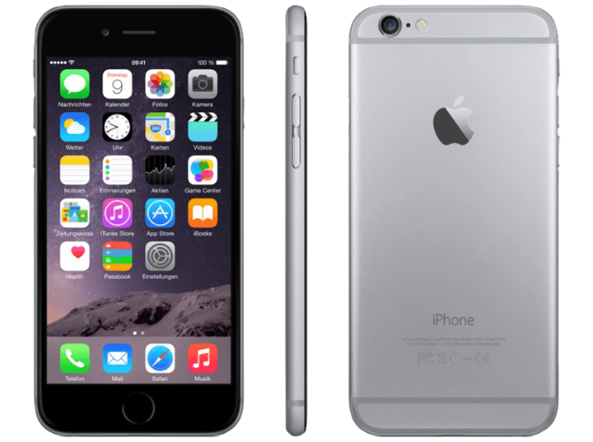 Movil Apple™ Ipho seis cuatro 7p Red 32gb Gris 1363219 002 Ad L