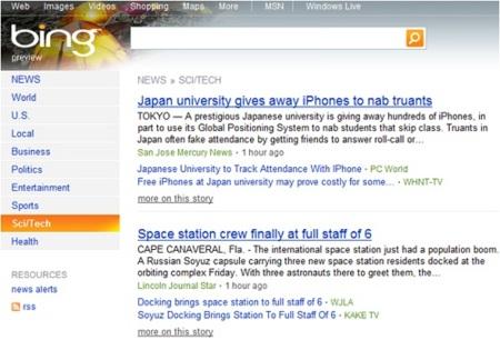 Bing Noticias