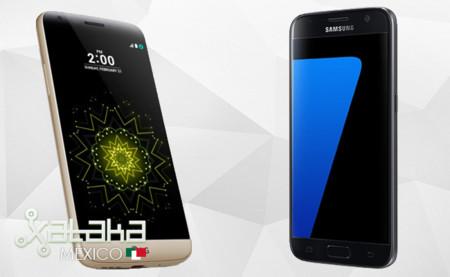 LG G5 y Samsung Galaxy S7, comienza la batalla de equipos insignia 2016
