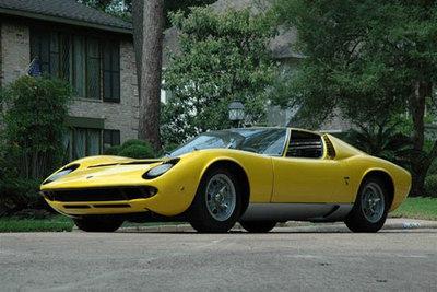 1969 Lamborghini Miura P400 Coupe a la venta en eBay