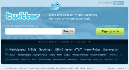 Twitter renueva su portada, con pretensiones