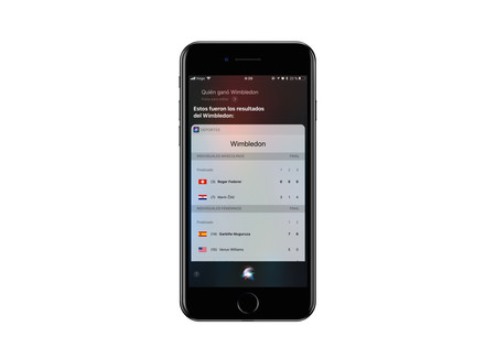 Siri ahora también sabe de tenis y de golf: torneos en directo, estadísticas, datos históricos y más