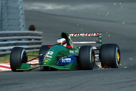 Schumacher Jordan Spa F1 1991