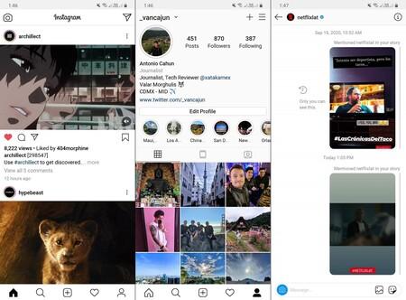 Instagram Live Interfaz Funcionamiento Mexico