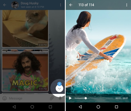 Telegram se actualiza a su versión 3.10 e introduce nuevas e interesantes funciones