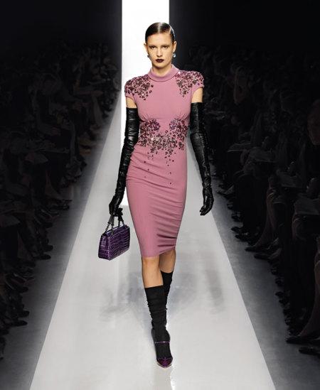Bottega Veneta Otoño-Invierno 2012/2013: siluetas hiperfemeninas