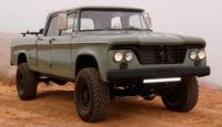 Dodge D200 Power Wagon Crew Cab Reformer, una original pick-up de 1964 restaurada por Icon