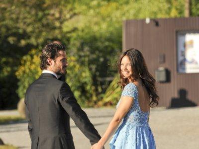 La fiesta pre-boda sin glamour de Carlos Felipe y Sofia Hellqvist