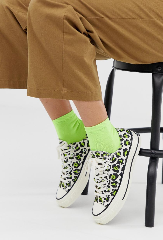 Zapatillas bajas de leopardo Chuck '70 Ox de Converse