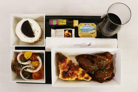 Menu Business Iberia Express