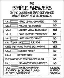 Respuestas simples para preguntas sobre cada nueva tecnología