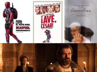 Estrenos de cine   19 de febrero   Deadpool, Anomalisa y la corona de César
