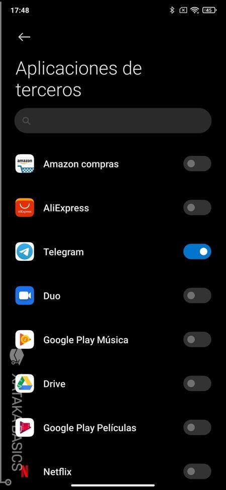 Oscuro En Apps