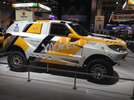 Opel desvela en Moscú su nuevo Mokka para el Dakar
