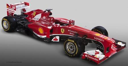 El Ferrari F138 se escapa de la jaula